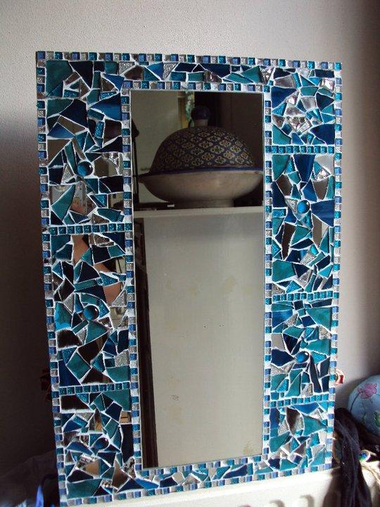 Mozaiek Spiegel Mosaic Mirror Miroir Mosa Que